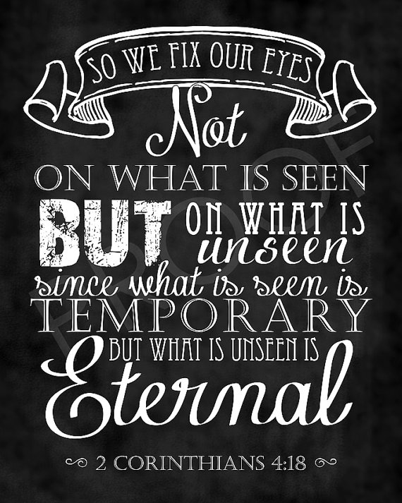 2 Cor 4.18